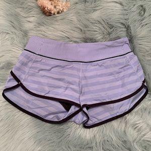 Periwinkle Lululemon Shorts